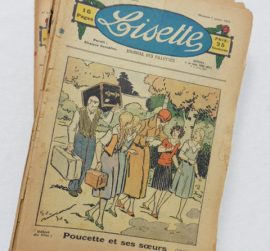 Collection d'hebdomadaires « Lisette » « Journal des Fillettes » 1934