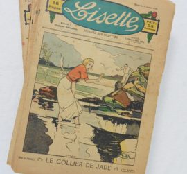 Collection d'hebdomadaires Lisette Journal des Fillettes 1935