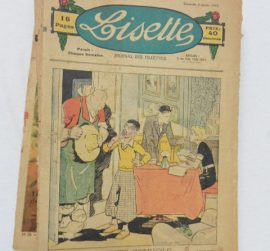 collection-dhebdomadaires-lisette-journal-fillettes-1938